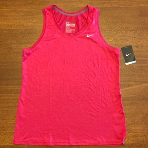 NWT Nike Dri-Fit Sleeveless Shirt